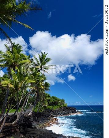图库照片: 夏威夷岛的风景