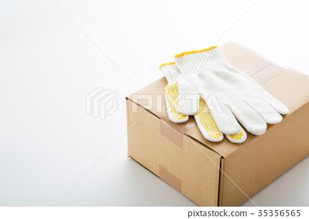 日用品 防灾用品 工作手套 硬纸板 瓦楞纸 工作手套  *pixta限定素材