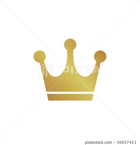 插图素材: 矢量 冠 王冠