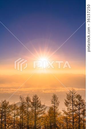 图库照片: 黎明 日出 风景