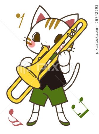 喇叭 插图 音乐 动物 表演 首页 插图 乐器 铜管乐器 喇叭 音乐 动物