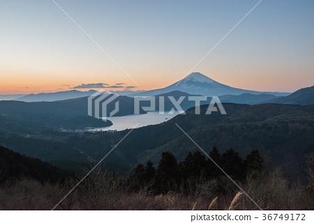 图库照片: 富士山 芦之湖 风景
