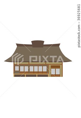 图库插图: 建筑 民居 矢量
