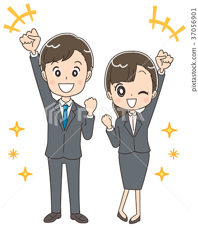 图库插图: 新员工 商务人士 商人