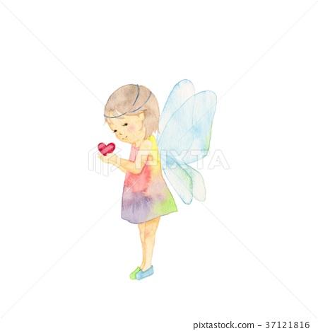 图库插图: 天使 仙子 天使的翅膀图片