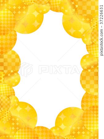 插图 背景_小物 小物 框架 框架 金色 镀金 黄金  *pixta限定素材仅在