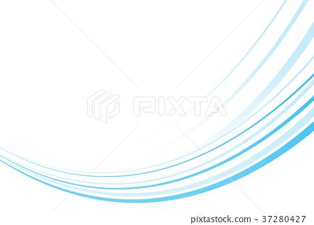 插图 姿势_表情_动作 表情 可爱 风 天蓝色 气流  *pixta限定素材仅在