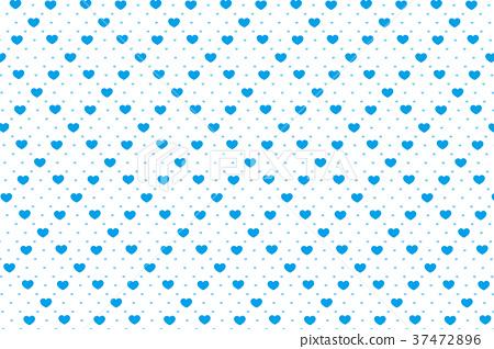 插图素材: 背景材料壁纸,心脏标记,模式,可爱,材料,桌布,格子图案
