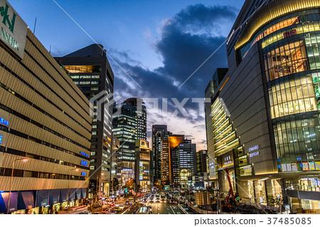 街道 建筑群 城市景观 城市风光 大阪  *pixta限定素材仅在pixta网站