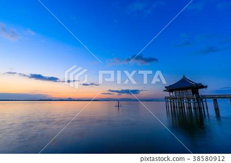 图库照片: 琵琶湖 友奇大厅 风景