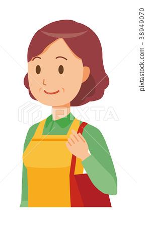 女性 主妇 插图 中年 主妇 家庭主妇 首页 插图 人物 女性 主妇 中年