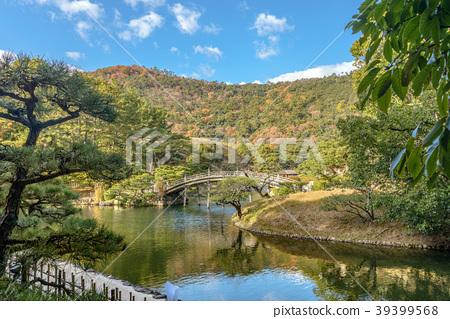 河_池塘 池塘 照片 栗林公园 日本园林 日式花园 首页 照片 风景_自然