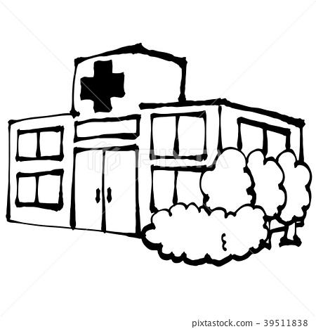 图库插图: 矢量 医院 药物