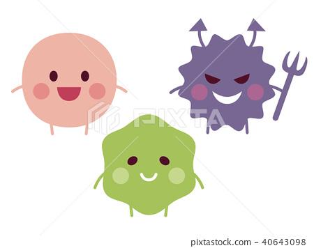 细菌动漫图片 卡通图片杀细菌图片