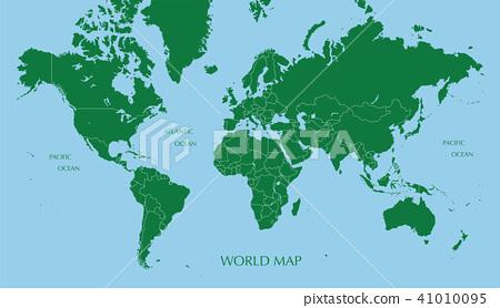 墨卡托投影世界地图今日头条广告设计上海图片