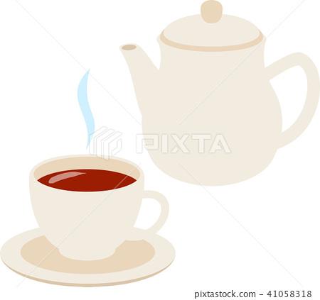 插图素材: 茶和茶壶