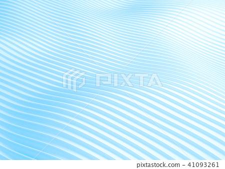 图库插图: 背景 波动 天蓝色