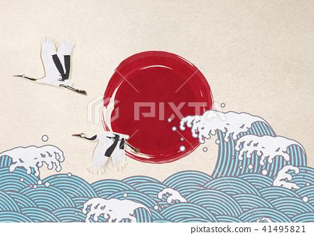 首页 插图 人物 男女 日本人 海浪 浮世绘 日本纸  *pixta限定素材仅