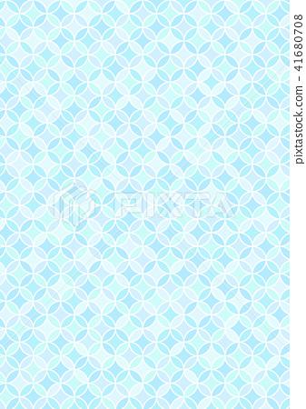 插图素材: 景泰蓝图案壁纸