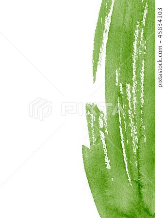 插图素材: 背景材料水彩纹理抹茶