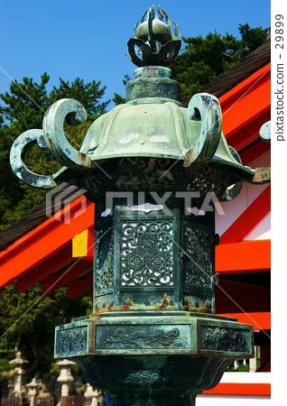Lantern of Itsukushima Shrine 29899