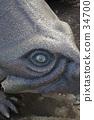 triceratops, force, dinosaur 34700