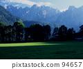 alpine, mountain, lake 94657