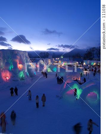 Lake Shikotsu Ice Festival 111038