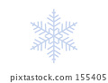 雪花 雪 晶體 155405