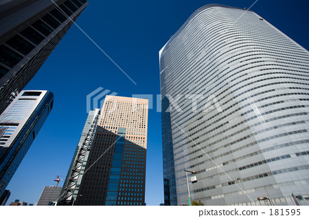 Shiodome's office building city 181595