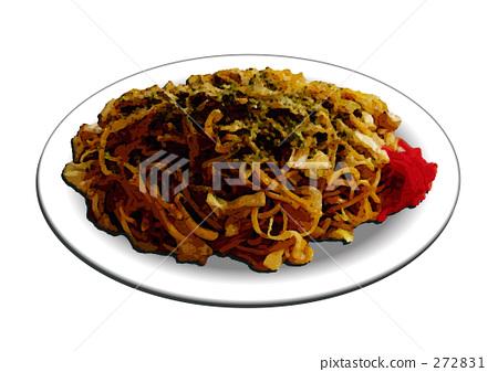Fried noodles 272831