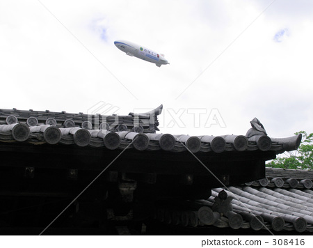 Roof and airship 308416