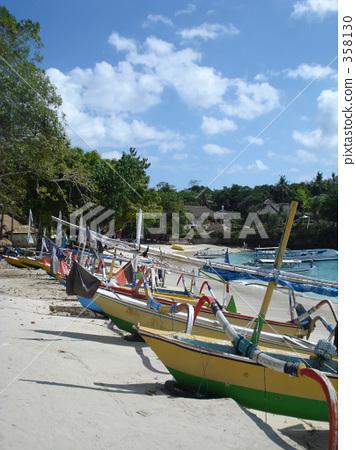 巴厘島 船 划船 358130