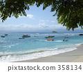 shirahama, bali, sand beach 358134