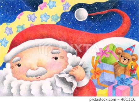 聖誕老人 聖誕老公公 聖誕夜 401316