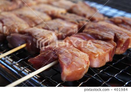 猪肋排 猪肉 日式烤鸡串 401984