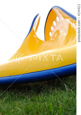Curved beautiful slide 414421