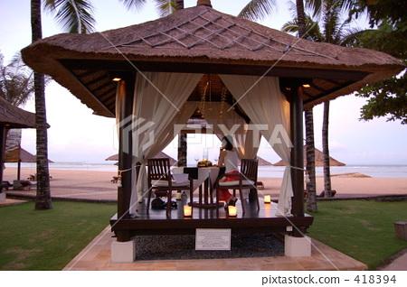 Conrad Bali Beach Barre Dinner 418394