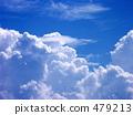 여름의 구름 479213