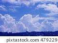 여름의 구름 479229