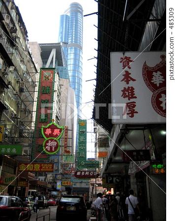 香港 街景 街道 485309