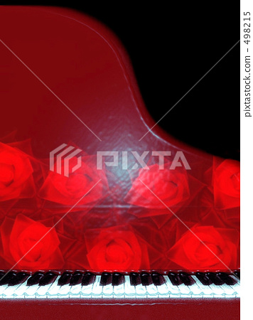 Red Piano Time. 498215