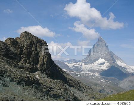 rocky mountain, mountain, clear sky 498665