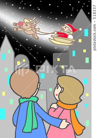 Christmas Eve two people 518337