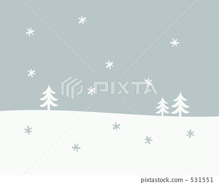 Snowy landscape 531551