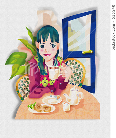Women's lifestyle (cafe) 535540
