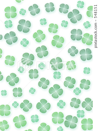 Texture material Wallpaper Art Clover Shiftle leaves four leaves 548151