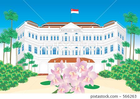 Singapore Raffles Hotel 566263
