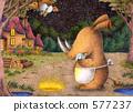 ภาพประกอบสัตว์ - ผู้ปกครองและเด็กของ Sai.4 577237