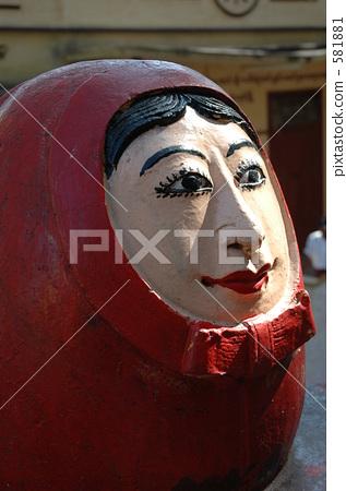 緬甸 達摩吉祥娃娃 不倒翁 581881